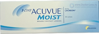 1-Day Acuvue Moist 30 шт