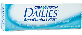 Dailies AquaComfort Plus 30 шт