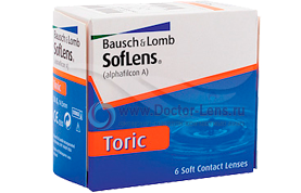 SOFLENS 66 TORIC for Astigmatism