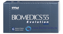 BIOMEDICS 55 UV EVOLUTION ASPHER - описание