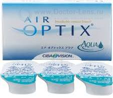 Линзы Air Optix Aqua 3 шт