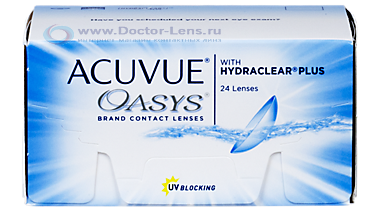 Acuvue Oasys with hydraclear plus 24