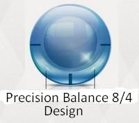 Дизайн торических линз Air Optix for astigmatism - Precision Balance 8/4 Design
